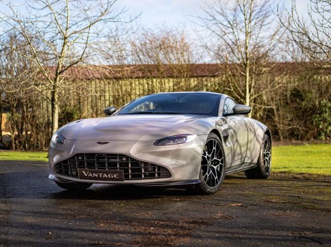 2021 Aston Martin V8 2-door (Grey) - Image: 14