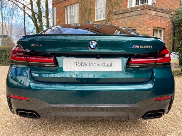 2021 BMW M550i V8 Steptronic xDrive 4-door  - Image: 18