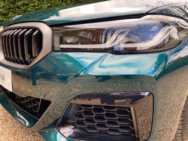 2021 BMW M550i V8 Steptronic xDrive 4-door  - Image: 20