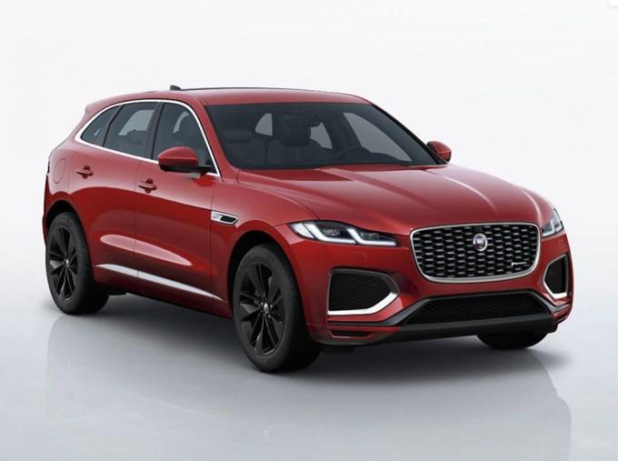 2021 Jaguar MHEV R-Dynamic SE Auto 5-door (Red) - Image: 1