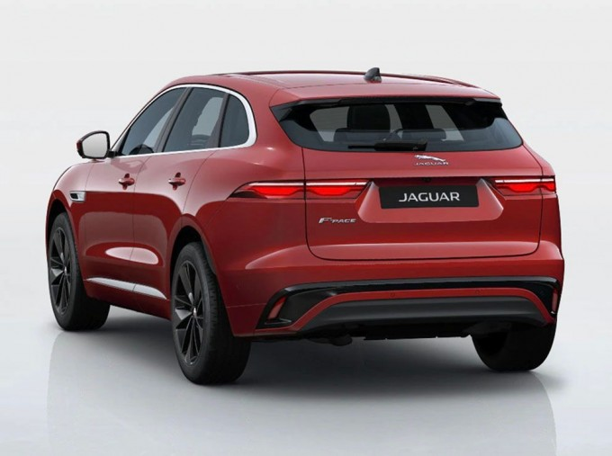2021 Jaguar MHEV R-Dynamic SE Auto 5-door (Red) - Image: 3