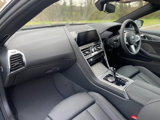 2021 BMW 840i M Sport Gran Coupe Steptronic 4-door (Grey) - Image: 7