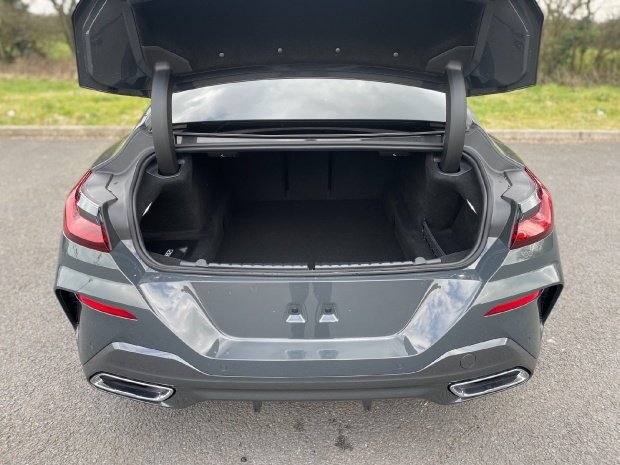 2021 BMW 840i M Sport Gran Coupe Steptronic 4-door (Grey) - Image: 13