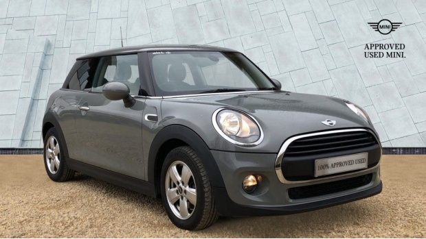 2017 MINI One 3-door Hatch (Grey) - Image: 1