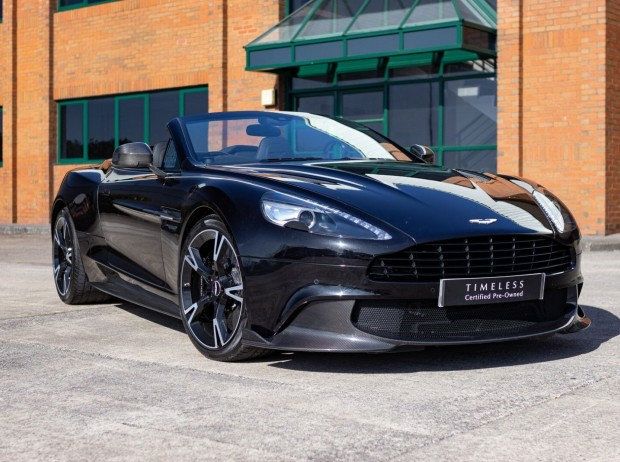 Reserve your 2018 Aston Martin Vanquish S Volante 6.0 2-door