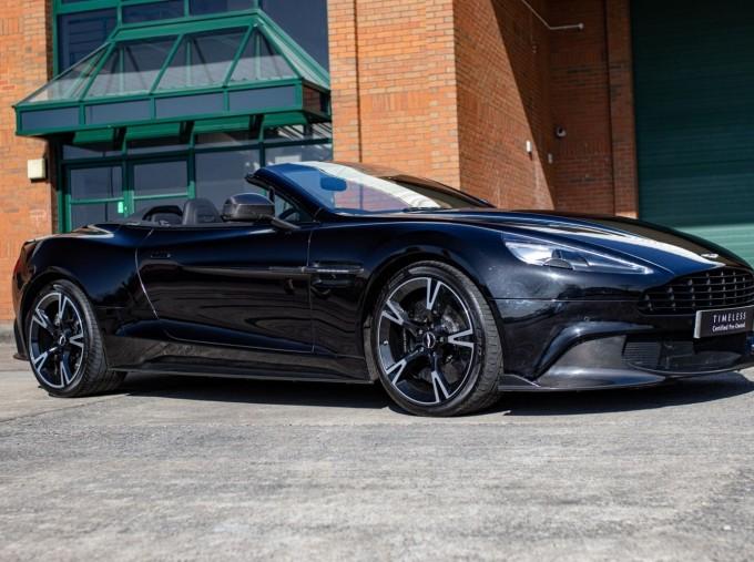 2018 Aston Martin V12 Volante Touchtronic III 2-door (Black) - Image: 3