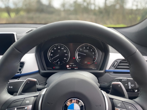 2021 BMW 20i M Sport DCT sDrive 5-door (Blue) - Image: 8