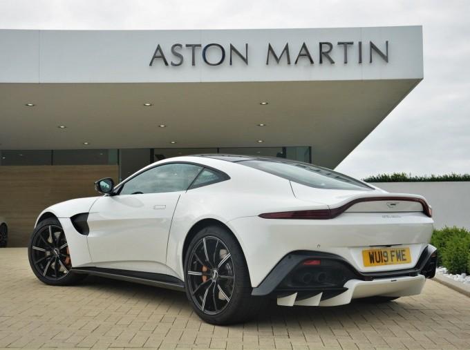 2019 Aston Martin V8 Auto 2-door (White) - Image: 2