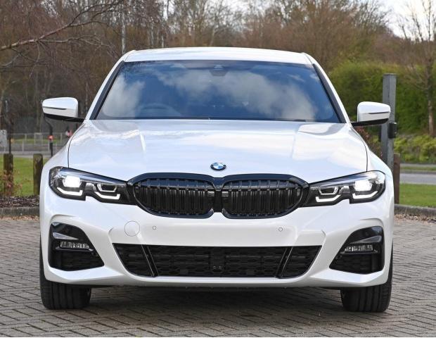 2021 BMW 330e 12kWh M Sport Auto xDrive 4-door (White) - Image: 2