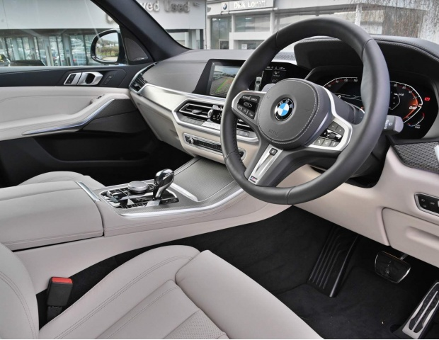 2021 BMW 40d MHT M Sport Auto xDrive 5-door (Grey) - Image: 7