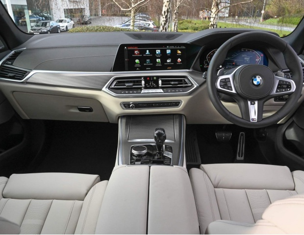 2021 BMW 40d MHT M Sport Auto xDrive 5-door (Grey) - Image: 20