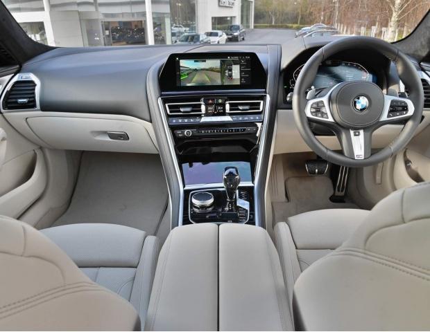2021 BMW 840i M Sport Gran Coupe Steptronic 4-door (Grey) - Image: 22