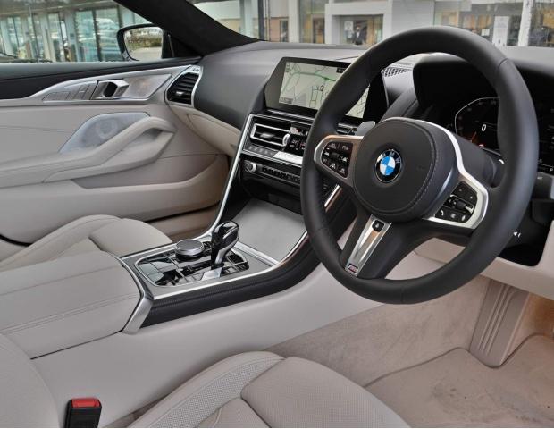 2021 BMW 840i M Sport Gran Coupe Steptronic 4-door (Black) - Image: 8