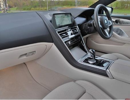2021 BMW 840i M Sport Gran Coupe Steptronic 4-door (Black) - Image: 11