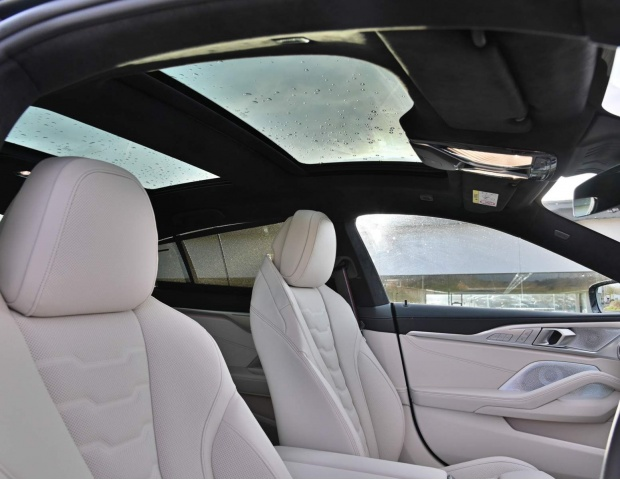 2021 BMW 840i M Sport Gran Coupe Steptronic 4-door (Black) - Image: 14