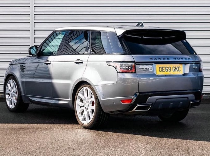 2019 Land Rover SD V8 Autobiography Dynamic Auto 4WD 5-door (Grey) - Image: 2