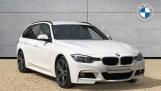 2017 BMW 320d M Sport Touring (White) - Image: 1