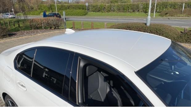 2020 BMW 330i M Sport Saloon (White) - Image: 21