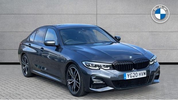 2020 BMW 330i M Sport Saloon (Grey) - Image: 1