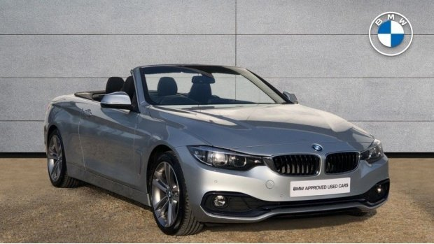 2019 BMW 420d Sport Convertible (Silver) - Image: 1