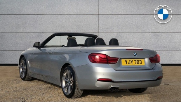 2019 BMW 420d Sport Convertible (Silver) - Image: 2