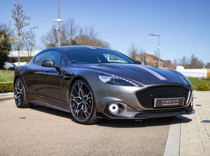 2019 Aston Martin AMR Coupe (Silver) - Image: 1