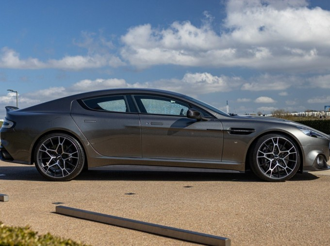 2019 Aston Martin AMR Coupe (Silver) - Image: 3