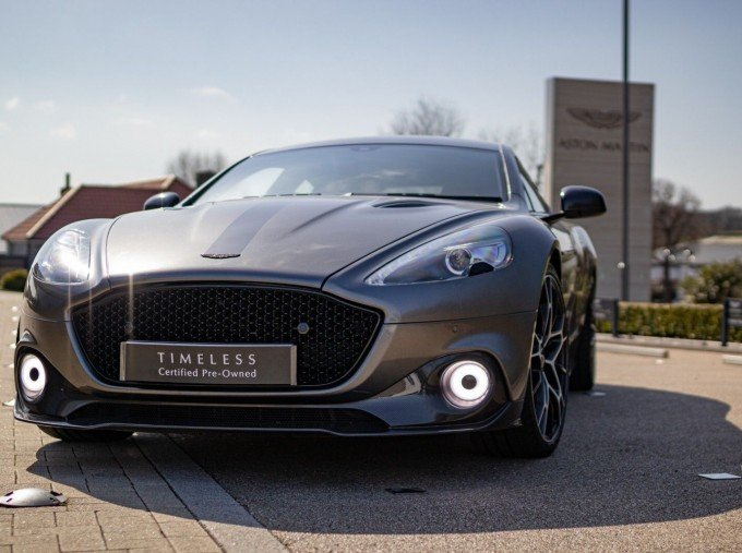 2019 Aston Martin AMR Coupe (Silver) - Image: 33