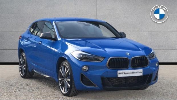 2019 BMW M35i (Blue) - Image: 1