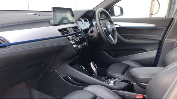 2019 BMW M35i (Blue) - Image: 7