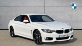 2019 BMW 435d xDrive M Sport Coupe (White) - Image: 1