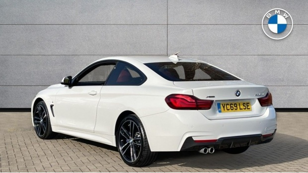 2019 BMW 435d xDrive M Sport Coupe (White) - Image: 2