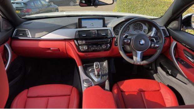 2019 BMW 435d xDrive M Sport Coupe (White) - Image: 4