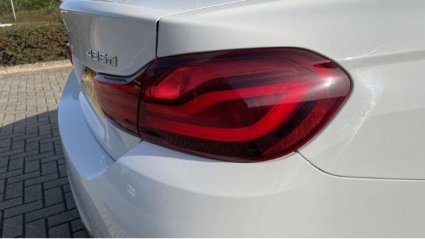 2019 BMW 435d xDrive M Sport Coupe (White) - Image: 21