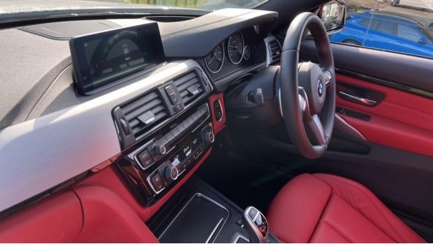 2019 BMW 435d xDrive M Sport Coupe (White) - Image: 40
