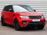 2017 Land Rover SD V8 Autobiography Dynamic CommandShift 2 5-door (Red) - Image: 1