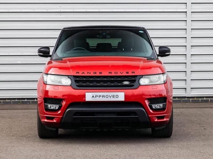 2017 Land Rover SD V8 Autobiography Dynamic CommandShift 2 5-door (Red) - Image: 7
