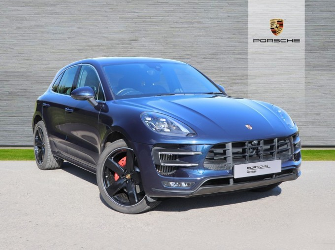 2016 Porsche TURBO PDK (Blue) - Image: 1