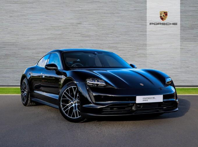 2021 Porsche 93.4kW Performance Auto 4-door (Black) - Image: 1