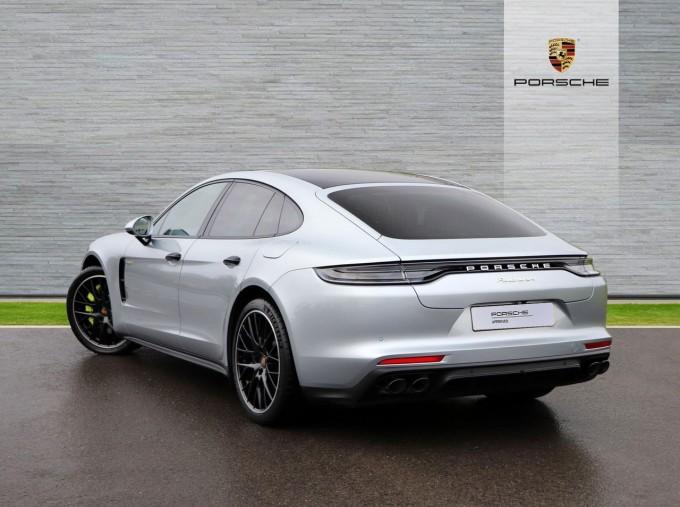 2021 Porsche V6 E-Hybrid 14kWh 4 PDK 4WD 4-door (Silver) - Image: 2