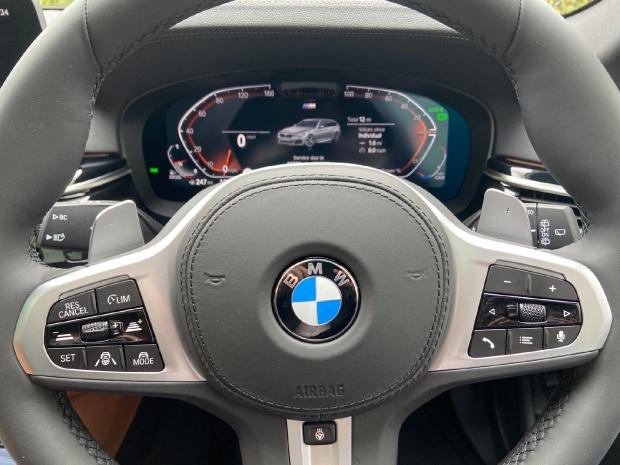 2021 BMW 530d MHT M Sport Touring Steptronic xDrive 5-door  - Image: 12
