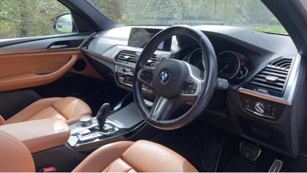 2017 BMW XDrive20d M Sport (White) - Image: 6
