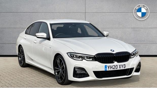 2020 BMW 330i M Sport Saloon (White) - Image: 1