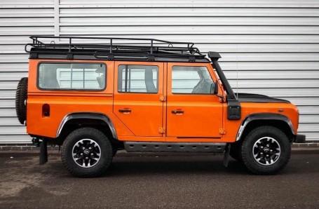 2016 Land Rover D Adventure Edition Station Wagon 5-door (Orange) - Image: 5
