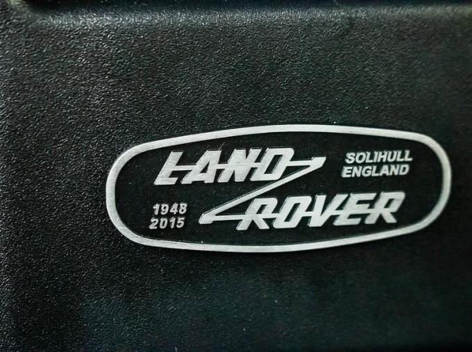 2016 Land Rover D Adventure Edition Station Wagon 5-door (Orange) - Image: 12