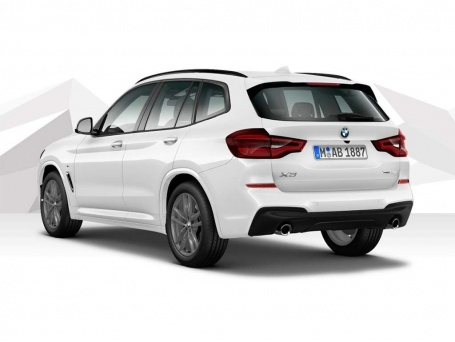 2021 BMW 20i M Sport Auto xDrive 5-door (White) - Image: 3