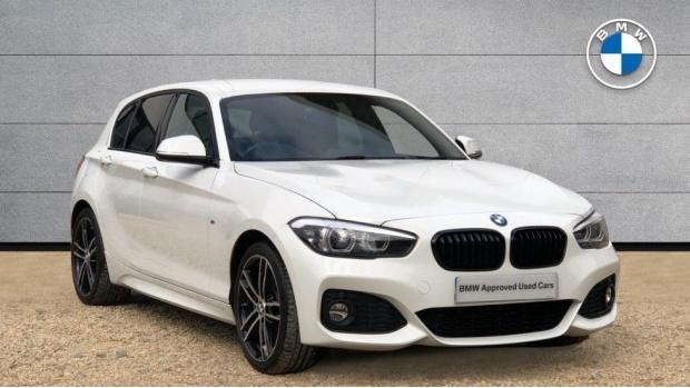 2017 BMW 120d M Sport Shadow Edition 5-door (White) - Image: 1
