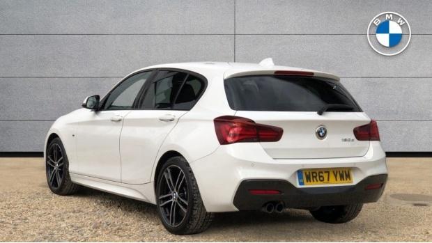 2017 BMW 120d M Sport Shadow Edition 5-door (White) - Image: 2