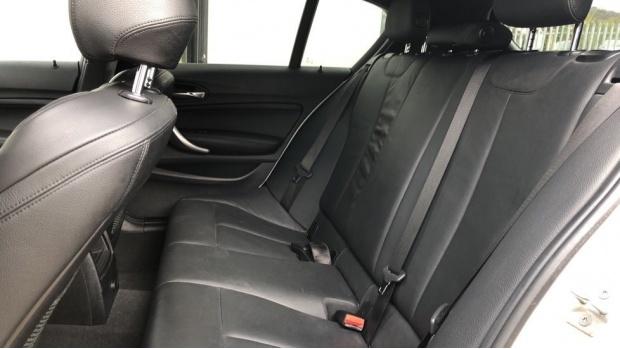 2017 BMW 120d M Sport Shadow Edition 5-door (White) - Image: 12