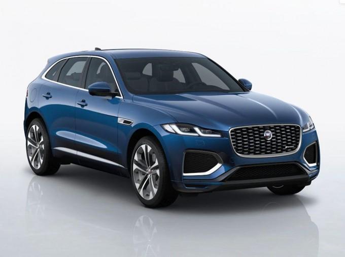 2021 Jaguar MHEV R-Dynamic HSE Auto 5-door (Blue) - Image: 1